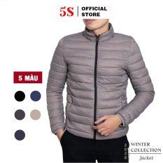 Áo Khoác Nam 5S ( 6 Màu) Chất Liệu Chần Bông Cao Cấp, Siêu Nhẹ, Siêu Ấm