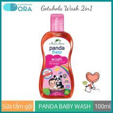 Sữa tắm gội toàn thân cho bé Panda Baby Wash Body and Hair 100ml