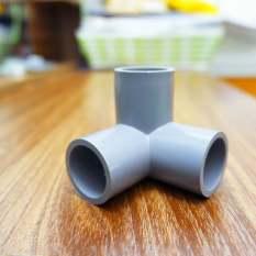 4 Chiếc co cút góc 3 nhánh 3 hướng nhựa pvc 21 27 34 42, sản phẩm tốt, chất lượng cao, cam kết như hình, độ bền cao