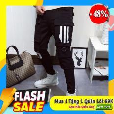 Quần pant kaki jogger nam túi hộp phong cách Hàng Nhập cao cấp QJC5