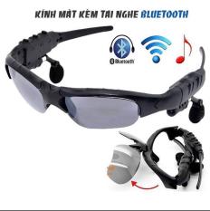 Mắt Kính Bluetooth, Kính râm thời trang 2 trong 1 kèm tai nghe Bluetooth 5.0 Kết Nối Không Dây với Điện Thoại Nghe Nhạc Mọi Lúc Mọi Nơi, Mắt Kính Râm Dùng Ngoài Trời Nghe Nhạc Tiện Lợi