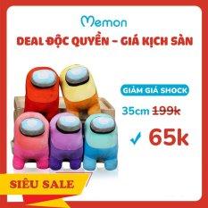 Gấu Bông Among Us 3D 35cm Cao Cấp Memon