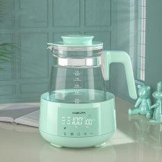 Bình đun sôi hâm nước pha sữa Misuta thông minh MST1200ml – Khử Clo, sôi siêu tốc, giữ nhiệt 24h, điều khiển từ xa