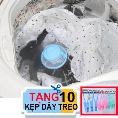 Combo 2 phao lọc rác bẩn máy giặt. Tặng 10 kẹp dây treo
