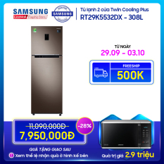 Tủ lạnh Samsung Twin Cooling Plus 308L – RT29K5532DX