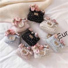 Túi đính hoa thời trang cho bé