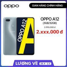 Điện thoại OPPO A12 (3GB/32GB) – Hàng chính hãng Bảo hành 12 tháng
