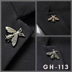 Ghim cài áo Vest Nam và Sơ mi hình con ve sầu GH-113 cài ve áo Vest, áo Măng tô Lapel Pin (Phụ Kiện Áo Vest – AdamZone)
