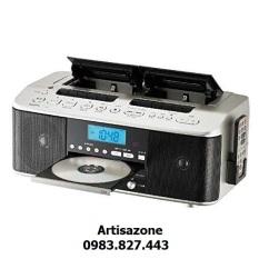 Đài Radio, CD, Cassette 2 cửa băng Toshiba TY – CDW99 – Hàng sản xuất cho thị trường nội địa Nhật chạy điện 100V