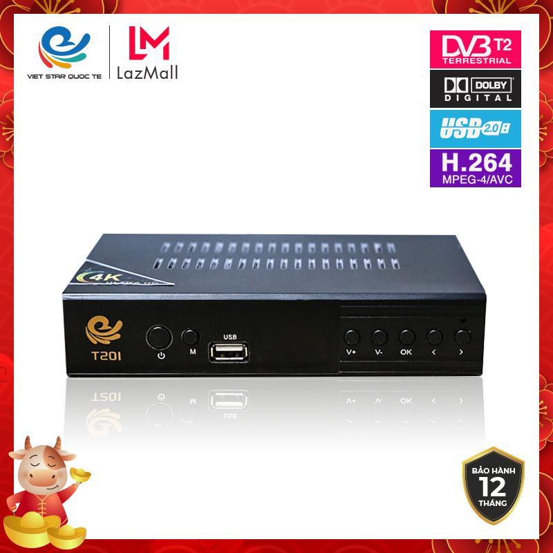 Đầu thu kỹ thuật số, đầu thu truyền hình số mặt đất Dvb t2, Truyền hình mặt đất dvbt2 , Telebox T201, VS 999, Việt Star T201, T201s, Dvb t2 , mua kèm Anten giảm giá bảo hành 12 tháng