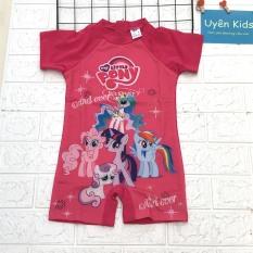 Bộ đồ bơi cao cấp bé gái hình chú ngựa Pony