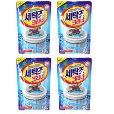 Bộ 4 gói bột tẩy vệ sinh lồng máy giặt 450g PNS347
