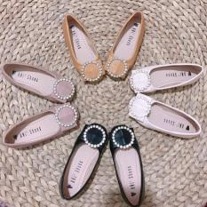Giày búp bê da mềm cho bé gái size 26-35