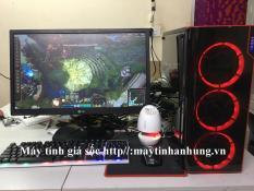Bộ máy tính chơi game công nghê intel 22nm RAM 8Gb,ổ SSD điện tử siêu nhanh, thùng máy 03 fan led, Màn hình 22 inch Full HD (Trọn bộ, tặng 1 bộ bàn phím + chuột LED giả cơ hoặc tặng 1 Bộ loa mini + 1 USB wifi)