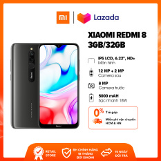Điện thoại Xiaomi Redmi 8 3GB/32GB , Chip Snapdragon 439 8 nhân Bảo hành chính hãng 18 tháng