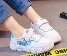 Giày thể thao chất da cá tính cho bé gái ETT003