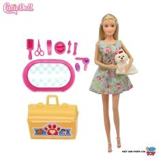 Bộ đồ chơi búp bê thời trang nghề nghiệp tiNiToy cùng phụ kiện thời trang và theo chủ đề, phù hợp cho bé từ 5 tuổi, đạt tiêu chuẩn Châu Âu EN71, an toàn cho bé (Giao mẫu ngẫu nhiên)