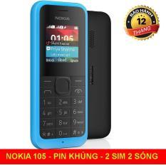 Điện thoại độc cổ NOKIA 105 giá rẻ tặng kèm sim 3g 10 số