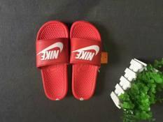 [Siêu Rẻ] Dép Nike Đỏ Nam Nữ Thời Trang [Full Hộp]