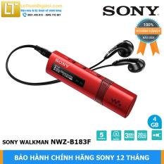 Máy nghe nhạc Sony Walkman NWZ-B183F (Đỏ) – Hãng phân phối – Bảo hành chính hãng 12 tháng