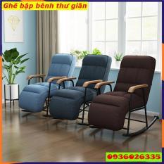 Ghế sofa bập bênh thư giãn, khung sắt cao cấp, có thể ngả thành giường
