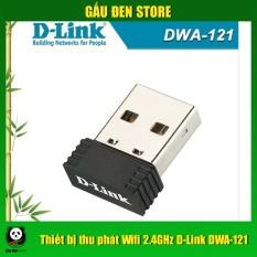 [Nhập ELMAR31 giảm 10% tối đa 200k đơn từ 99k]Thiết bị thu phát wifi 2.4ghz D-Link Dwa-121 sản phẩm đa dạng chất lượng đảm bảo cam kết hàng giống hình inbox shop để được tư vấn thêm