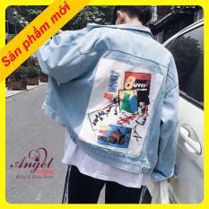 Áo khoác jean NAM NỮ thời trang phong cách HÀN BTS OT08