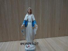combo 4 tượng gốm sứ Đức mẹ ban ơn cao 5 cm