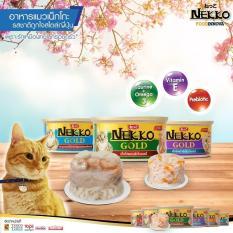 Set 6 lon Pate Nekko Gold cho mèo – 85g