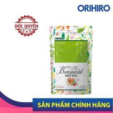 Trà Detox Botanical Diet Tea Orihiro Nhật Bản giúp giảm cân, thải độc, thanh lọc cơ thể, 20 gói/túi