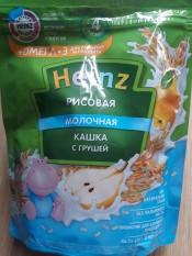 Bột ăn dặm Heizn Nga vị gạo sữa lê cho bé từ 4 tháng – 200g (bot an dam, bột heizn)