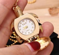 Dây chuyền nữ mặt hình con rùa có đồng hồ dễ thương PA01 (Vàng)
