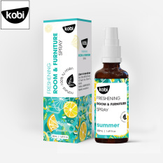 Tinh dầu xịt phòng khử khuẩn Summer Kobi giúp thơm phòng, đuổi muỗi, thơm quần áo, khử mùi hôi giày, ô tô hiệu quả
