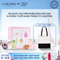 [Ưu đãi đặt trước 9.9] Set 6 nước hoa mini Lancôme mùi hương ngọt ngào sang trọng
