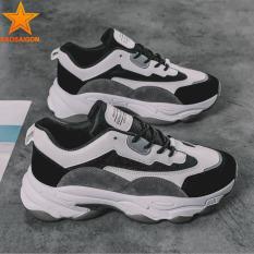 [HCM]Giày thể thao nam đế độn cao cấp thân nhẹ đế chống trượt SG552 Saosaigon