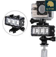 Đèn Lặn Biển LED Chống Nước Gắn Máy Quay Hành Trình GoPro Kèm Pin Sạc GL-30