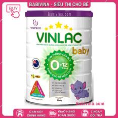 [CHÍNH HÃNG] Sữa Vinlac Baby 900g | Cho Trẻ Từ 0-12 Tháng Tuổi | BABIVINA
