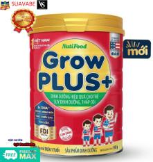 Sữa bột Grow plus đỏ Nutifood 900g Mẫu 2020