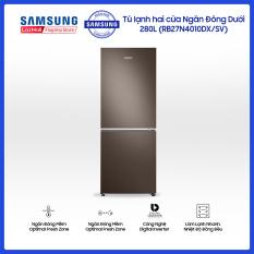 Tủ lạnh hai cửa Ngăn Đông Dưới Samsung 280L với công nghệ Digital Inverter tiết kiệm điện năng – RB27N4010DX/SV