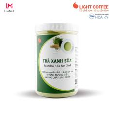 Bột trà xanh sữa 3in1 GreenD Food – Hũ 550gr