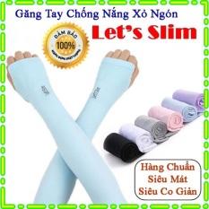 [Giá Sỉ] Găng tay chống nắng xỏ ngón Let's Slim