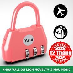 Khóa vali du lịch màu xanh hồng tím trẻ trung nổi bật Yale Y-NOVELTY-2