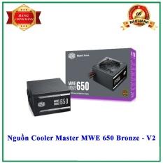 [Nhập ELJAN11 giảm 10%, tối đa 200k, đơn từ 99k]Nguồn máy tính Cooler Master MWE Bronze V2 650w