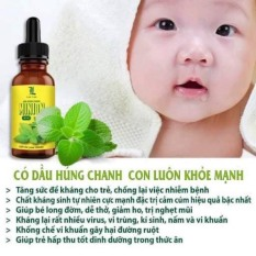 Tinh dầu húng chanh Minion 30ml Dầu húng chanh Minion [ Chính hãng] Tinh dầu húng chanh Minion