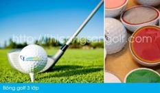 Bóng golf tập/Bóng golf 3 lớp/Banh golf 3 lớp Titlelist Pro V1/Pro V1X/Banh golf thi đấu