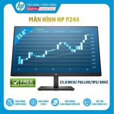 Màn hình HP P244 (23.8 Inch/FULLHD/60Hz/5Ms/IPS/Black-5QG35AA) – Hàng Chính Hãng