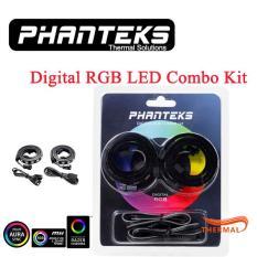 Dây led rgb 5v Phanteks Digital RGB LED Strip Combo Kit (Bộ 2 dây) – 30 bóng led, cổng 5v 3-pin