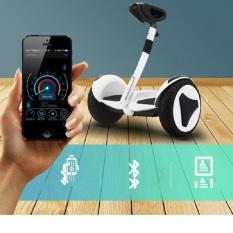 Xe điện cân bằng Mini Robot – Xe Điện Cân Bằng Thông Minh – Điều Khiển Bằng Điện Thoại Qua Ứng Dụng – Bluetooth, đèn led, tay xách thuận tiện