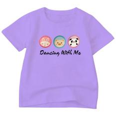 Áo thun bé gái form rộng in hình dễ thương ATBTM99 chất liệu poly cotton sản phẩm của thời trang Elsa