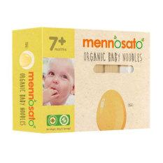 Mì sợi ăn dặm rau củ vị trứng hữu cơ cho bé MenNoSato 200g